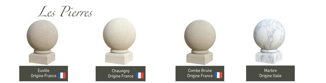 Monuments funéraires choix granit Pascal LECLERC