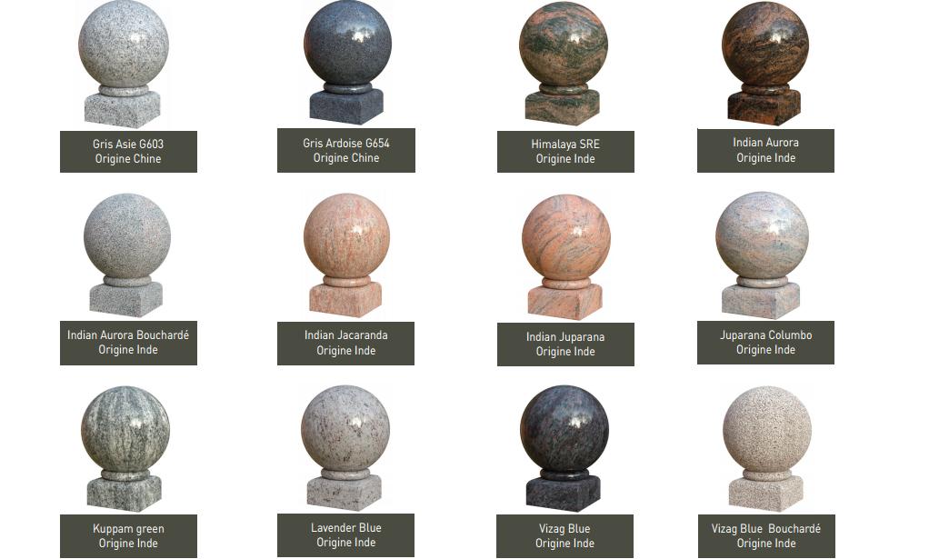 Monuments funéraires choix granit pompes funebres Pascal LECLERC