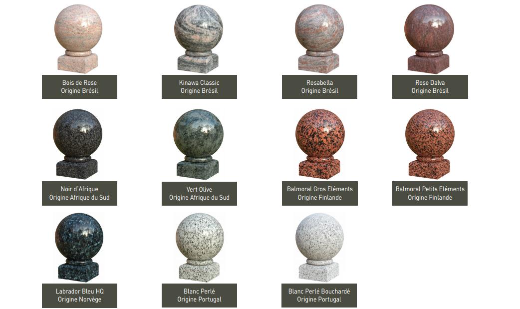 Monuments funeraires gamme granit pompes funebres Pascal LECLERC